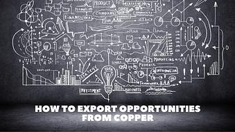 How to Export Opportunities from Copper