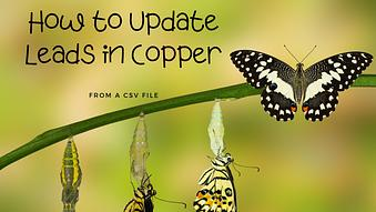 How to Update Leads in Copper from a CSV file