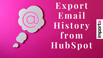 Export Email History from HubSpot