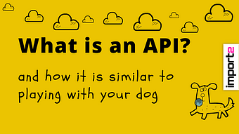 What is an API? (and how it's similar to playing with your dog)