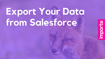 Salesforce Data Export (Leads, Tasks & more)