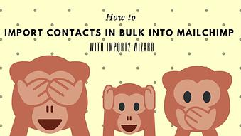 How to Import Contacts in Bulk into MailChimp with Import2 Wizard