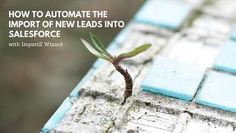 How to Automate the Import of New Leads into Salesforce